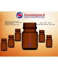 Kod: 3043 -  40ml. Amber İlaç Şişesi