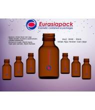 Kod: 3044 -  50ml. Amber İlaç Şişesi